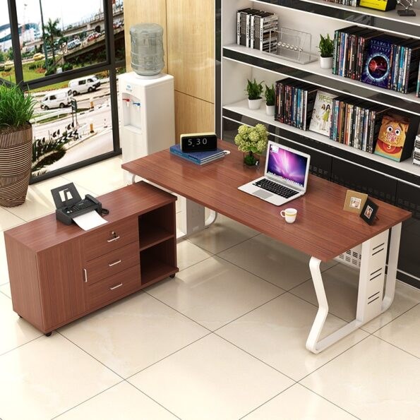 0210TB008-Modern-minimalist-European-style-steel-wood-free-combination-of-executive-desk-boss-manager-office-table