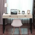 2021-New-Hot-Computer-Table-Laptop-Office-Desk-Study-Table-Workstation-With-2-Drawers-Laptop-Office