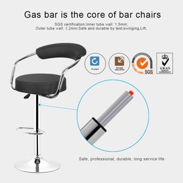 2pcs-pair-Adjustable-Gas-Lift-Bar-Stools-Modern-PU-Leather-Hollow-Backrest-chair-New-Arrival-4
