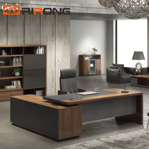 Executive-Office-Furniture-220cm-Wood-L-shaped-Personal-Computer-Manager-Table-Desk-Set