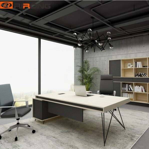 Industrial-Geometric-Fashion-Office-Furniture-Design-1-8-meter-Nordic-Wooden-Executive-Manager-Table-Desk