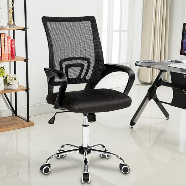 Office-Gaming-Chair-PVC-Household-Armchair-Lift-and-Swivel-Function-Ergonomic-Office-Computer-Chair-Wcg-Gamer